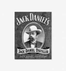 Tac Signs  - Jack Daniels black/white - Tac Signs - D1622 - tacD1622 | Toms Modelautos