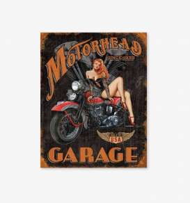 Tac Signs  - Garage brown/red/rusty - Tac Signs - D1628 - tacD1628 | Toms Modelautos