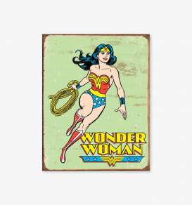 Tac Signs  - Wonder Woman green/red/yellow - Tac Signs - D1642 - tacD1642 | Toms Modelautos