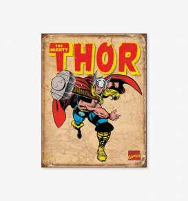 Tac Signs  - Thor beige/blue/red - Tac Signs - D1739 - tacD1739 | Toms Modelautos