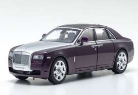 Rolls Royce  - Ghost SWB purple/red - 1:18 - Kyosho - 8802TPS - kyo8802TPS | Toms Modelautos