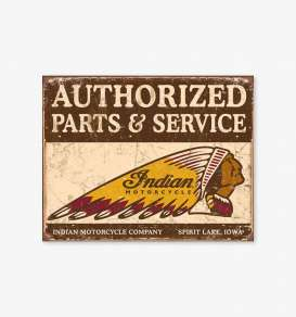 Tac Signs  - Indian brown/yellow/red - Tac Signs - D1930 - tacD1930 | Toms Modelautos