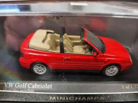 Volkswagen  - 1993 red - 1:43 - Minichamps - 400055531 - mc400055531 | Toms Modelautos