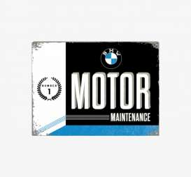 Tac Signs 3D  - BMW black/blue/white - Tac Signs - NA23228 - tac3D23228 | Toms Modelautos