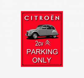 Tac Signs 3D  - Citroën red - Tac Signs - NA15188RA - tac3D15188RA | Toms Modelautos