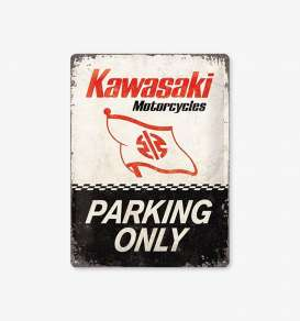 Tac Signs 3D  - Kawasaki black/white/red - Tac Signs - NA23260 - tac3D23260 | Toms Modelautos