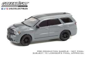 Dodge  - Durango 2019 grey - 1:64 - GreenLight - 13300D - gl13300D | Toms Modelautos