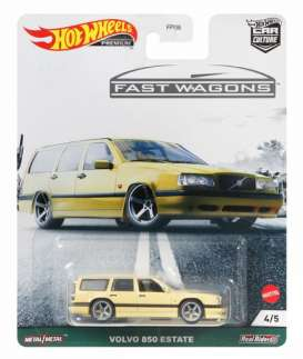 Volvo  - 850 Estate yellow - 1:64 - Hotwheels - GRJ67 - hwmvGRJ67 | Toms Modelautos