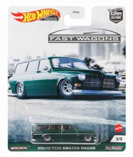 Volvo  - P220 Amazon Wagon green - 1:64 - Hotwheels - GRJ64 - hwmvGRJ64 | Toms Modelautos