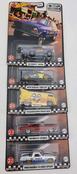 Assortment/ Mix  - various - 1:64 - Hotwheels - GJT68-979E - hwmvGJT68-979E | Toms Modelautos