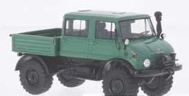 Mercedes Benz Unimog - 1977 green - 1:43 - NEO Scale Models - 46290 - neo46290 | Toms Modelautos