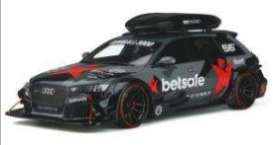 Audi  - RS6 2015 black/grey/red - 1:18 - GT Spirit - GT321 - GT321 | Toms Modelautos