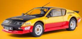 Renault  - Alpine A310 GT yellow/black/red - 1:18 - Solido - 1801204 - soli1801204 | Toms Modelautos