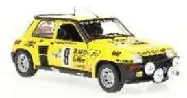 Renault  - 5 Turbo 1982 yellow/black - 1:18 - Solido - 1801311 - soli1801311 | Toms Modelautos