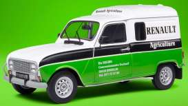 Renault  - 4 LF4 1988 white/green - 1:18 - Solido - 1802205 - soli1802205 | Toms Modelautos