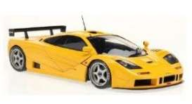 McLaren  - F1 GTR orange-yellow - 1:18 - Solido - 1804104 - soli1804104 | Toms Modelautos