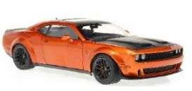 Dodge  - Challenger 2020 orange - 1:18 - Solido - 1805703 - soli1805703 | Toms Modelautos