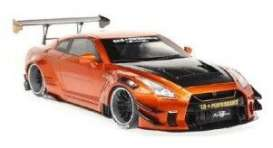 Nissan  - GTR 35 orange - 1:18 - Solido - 1805803 - soli1805803 | Toms Modelautos