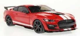 Ford  - Mustang 2020 red - 1:18 - Solido - 1805903 - soli1805903 | Toms Modelautos