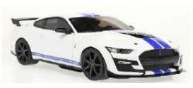 Ford  - Mustang 2020 white - 1:18 - Solido - 1805904 - soli1805904 | Toms Modelautos