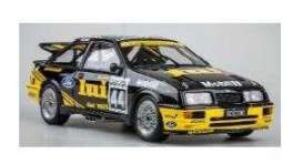 Ford  - Sierra 1989 black/yellow - 1:18 - Solido - 1806101 - soli1806101 | Toms Modelautos