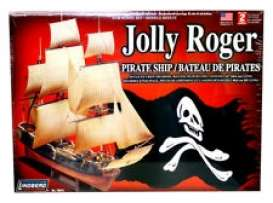 Jolly Rodger  - Pirate Ship  - 1:130 - Lindberg - HL70874 - lndsHL70874 | Toms Modelautos