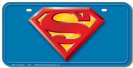 Funny Plates  - Superman blue/red/yellow - Tac Signs - D31337 - funD31337 | Toms Modelautos