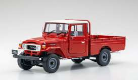 Toyota  - Land Cruiser  red - 1:18 - Kyosho - 08958R - kyo8958R | Toms Modelautos