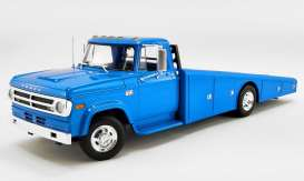 Dodge  - D300 Ramp Truck 1970 corporate blue - 1:18 - Acme Diecast - 1801905 - acme1801905 | Toms Modelautos