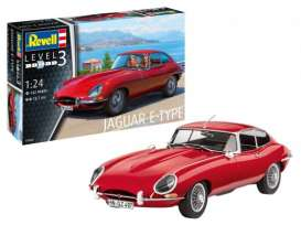 Jaguar  - E-Type (Coupé) 2013  - 1:24 - Revell - Germany - 67668 - revell67668 | Toms Modelautos