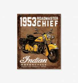 Tac Signs  - Indian brown/yellow - Tac Signs - D1932 - tacD1932 | Toms Modelautos