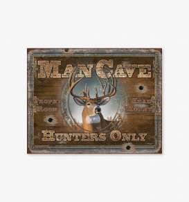 Tac Signs  - Man Cave brown/rusty - Tac Signs - D1935 - tacD1935 | Toms Modelautos