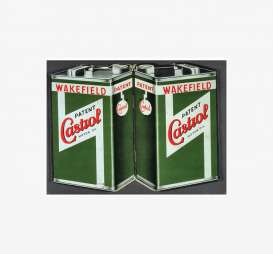 Tac Signs  - Castrol green/red - Tac Signs - BK10130 - tacBK10130 | Toms Modelautos