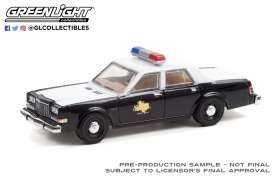 Dodge  - Diplomat 1981  - 1:64 - GreenLight - 30303 - gl30303 | Toms Modelautos