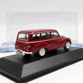 non  - Auto Union 1000S 1962 bordeaux - 1:43 - Magazine Models - ARG49 - magARG49 | Toms Modelautos