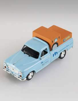 Peugeot  - T4B 1967 light blue - 1:43 - Magazine Models - SER14 - magSER14 | Toms Modelautos