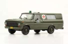 Ford  - F-100 1969 army - 1:43 - Magazine Models - SER15 - magSER15 | Toms Modelautos