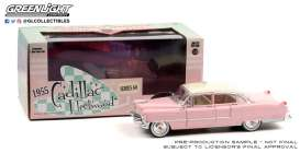 Cadillac  - Fleetwood 1955 pink/white - 1:24 - GreenLight - 84098 - gl84098 | Toms Modelautos
