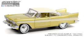 Plymouth  - Belvedere 1957 dessert gold - 1:24 - GreenLight - 18260 - gl18260 | Toms Modelautos