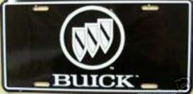 Funny Plates  - Buick black/white - Tac Signs - 147 - fun147 | Toms Modelautos