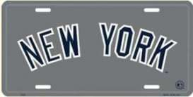 Funny Plates  - New York silver/blue - Tac Signs - 2725 - fun2725 | Toms Modelautos