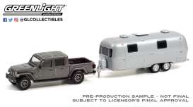 Jeep  - Gladiator 2020 grey - 1:64 - GreenLight - 32230B - gl32230B | Toms Modelautos