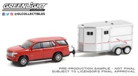 Chevrolet  - Tahoe 2020 red - 1:64 - GreenLight - 32230C - gl32230C | Toms Modelautos