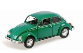 Volkswagen  - 1500 1983 green - 1:18 - Minichamps - 150057105 - mc150057105 | Toms Modelautos