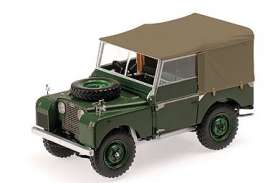 Land Rover  - 1948 green - 1:18 - Minichamps - 150168912 - mc150168912 | Toms Modelautos