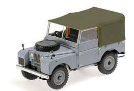 Land Rover  - 1948 grey - 1:18 - Minichamps - 150168913 - mc150168913 | Toms Modelautos