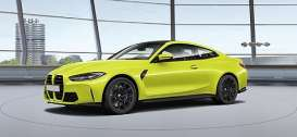 BMW  - M4 2020 yellow - 1:18 - Minichamps - 155020120 - mc155020120 | Toms Modelautos