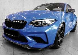 BMW  - M2 CS 2020 blue metallic - 1:18 - Minichamps - 155021022 - mc155021022 | Toms Modelautos