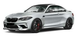 BMW  - M2 CS 2020 silver metallic - 1:18 - Minichamps - 155021024 - mc155021024 | Toms Modelautos