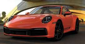 Porsche  - 911 Carrera 4S 2019 orange - 1:18 - Minichamps - 155067327 - mc155067327 | Toms Modelautos